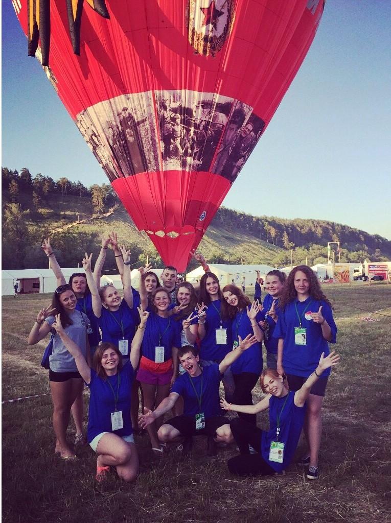 ПК и воздушный шар